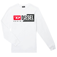 textil Niños Camisetas manga larga Diesel TDIEGOCUTY ML Blanco