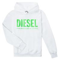 textil Niños Sudaderas Diesel SDIVISION LOGOX OVER Blanco