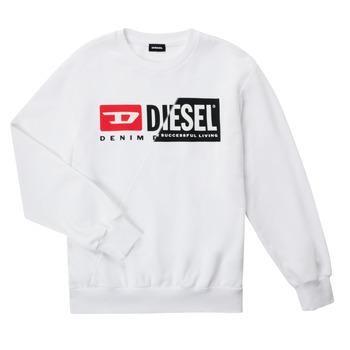 textil Niños Sudaderas Diesel SGIRKCUTY OVER Blanco