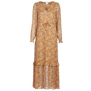 textil Mujer Vestidos largos Vila VIFALIA Cognac