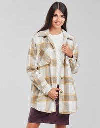textil Mujer Chaquetas / Americana Vila VIKIMMI Blanco / Beige