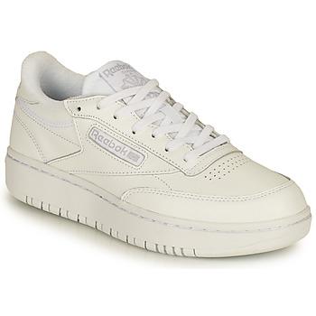 Zapatos Mujer Zapatillas bajas Reebok Classic CLUB C DOUBLE Blanco