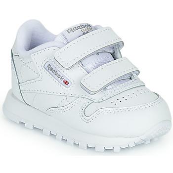 Zapatos Niños Zapatillas bajas Reebok Classic CL LTHR 2V Blanco