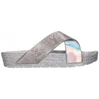 Zapatos Mujer Zuecos (Mules) Kelara K12033 Mujer Plata Argenté