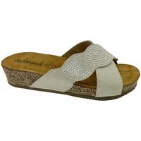 Zapatos Mujer Zuecos (Mules) De Fonseca DEFONCERVIAbia bianco