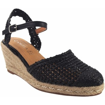 Zapatos Mujer Alpargatas D'angela Zapato señora  19486 dxf negro Negro