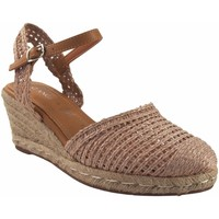 Zapatos Mujer Alpargatas D'angela Zapato señora  19486 dxf tostado Marrón