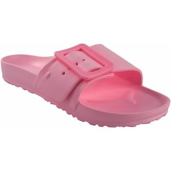 Zapatos Mujer Zuecos (Mules) Kelara Playa señora  02022 rosa Rosa