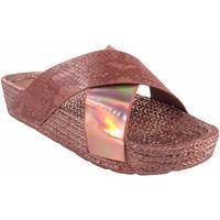 Zapatos Mujer Alpargatas Kelara Playa señora  k12033 salmon Rosa