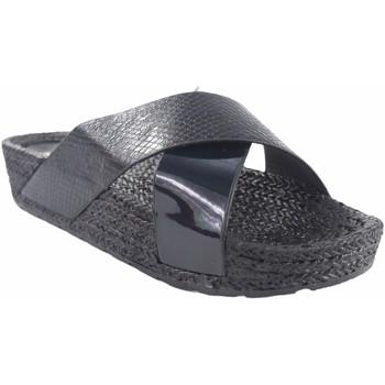 Zapatos Mujer Alpargatas Kelara Playa señora  k12033 negro Negro
