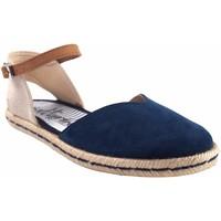 Zapatos Mujer Alpargatas Calzamur Zapato señora  10147 azul Azul
