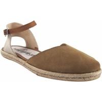Zapatos Mujer Alpargatas Calzamur Zapato señora  10147 beig Blanco