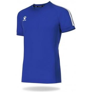 textil Camisetas manga corta Kelme Camiseta Global Azul