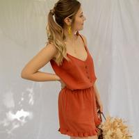 textil Mujer Monos / Petos Céleste NEROLI Terracota