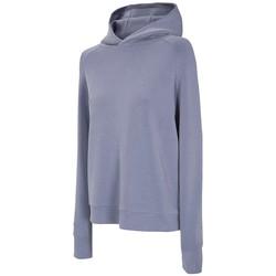textil Mujer Chaquetas de deporte 4F Women's Hoodie Bleu