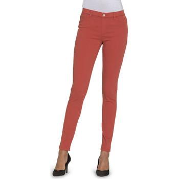 textil Mujer Vaqueros slim Carrera - 00767l_922ss Naranja