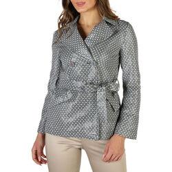 textil Mujer Abrigos Fontana - kim Gris