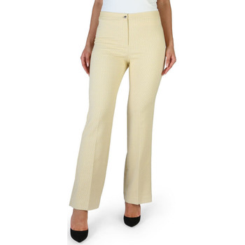 textil Mujer Pantalones Fontana - brenda Amarillo