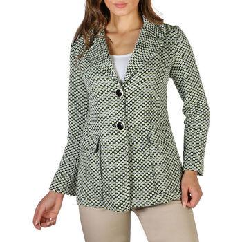 textil Mujer Abrigos Fontana - emily Verde