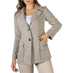 textil Mujer Abrigos Fontana - emily Marrón