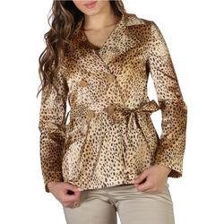 textil Mujer Abrigos Fontana - kim Marrón