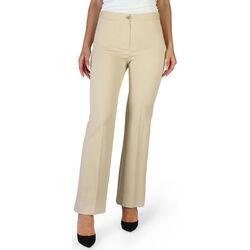 textil Mujer Pantalones Fontana - brenda Marrón