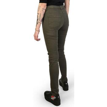textil Mujer Pantalones Carrera - 00767l_922ss Verde