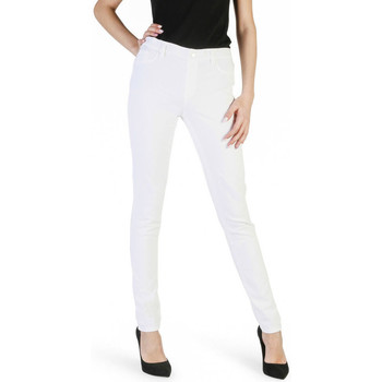 textil Mujer Pantalones Carrera - 00767l_922ss Blanco