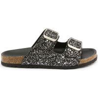 Zapatos Niños Zuecos (Mules) Shone - 026798-glitter Negro