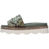 Zapatos Mujer Zuecos (Mules) Alma Blue V21BL7103 VERDE