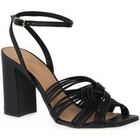 Zapatos Mujer Sandalias Miss Unique UNIQUE   PRETO SMOOTHIE Nero