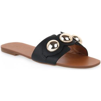 Zapatos Mujer Zuecos (Mules) Miss Unique UNIQUE   CALF PRETO Nero