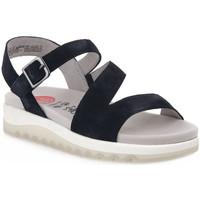 Zapatos Mujer Sandalias Jana SANDAL NAVY Blu