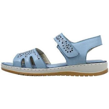 Zapatos Mujer Sandalias Amanda  Azul
