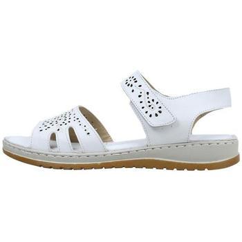 Zapatos Mujer Sandalias Amanda  Blanco