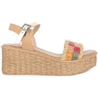 Zapatos Mujer Sandalias Porronet 2729 Natural