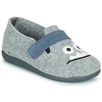 Zapatos Niño Pantuflas Citrouille et Compagnie POIVA Gris
