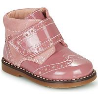 Zapatos Niña Botas de caña baja Citrouille et Compagnie PROYAL Rosa / Barniz