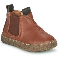 Zapatos Niño Botas de caña baja Citrouille et Compagnie PESTACLE Camel