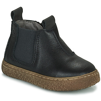 Zapatos Niño Botas de caña baja Citrouille et Compagnie PESTACLE Negro