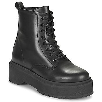 Zapatos Mujer Botas de caña baja Betty London PICARLA Negro