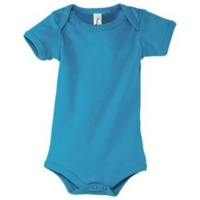 textil Niño Camiseta interior Sols BAMBINO AQUA Azul