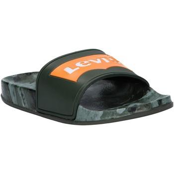 Zapatos Niños Chanclas Levi's VPOL0070S POOL Verde