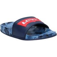 Zapatos Niños Chanclas Levi's VPOL0070S POOL Azul