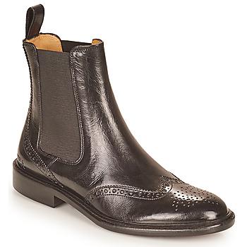 Zapatos Mujer Botas de caña baja Melvin & Hamilton SALLY 112 Negro