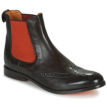 Zapatos Mujer Botas de caña baja Melvin & Hamilton AMELIE 5 Marrón / Naranja
