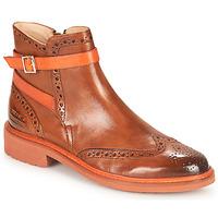 Zapatos Mujer Botas de caña baja Melvin & Hamilton SELINA 25 Marrón
