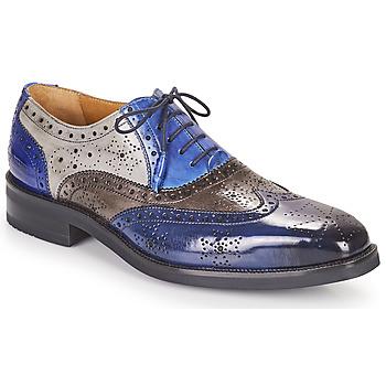 Zapatos Hombre Derbie Melvin & Hamilton JEFF 28 Azul
