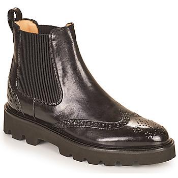 Zapatos Mujer Botas de caña baja Melvin & Hamilton SELINA 29 Negro