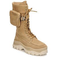 Zapatos Mujer Botas de caña baja Bronx JAXSTAR HIGH Beige
